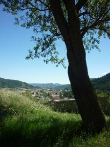uitzicht Sisteron