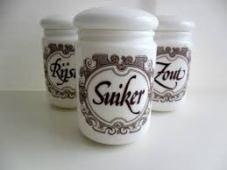 rijst suiker zout