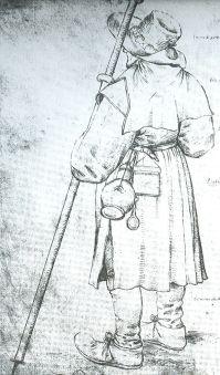 Pelgrim met lepel (Pieter Breughel)