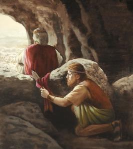 David wacht op Gods tijd voor hem
