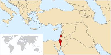 israel-kaart